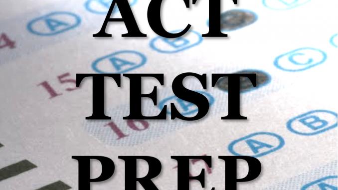 ACT Test Prep at KCHS