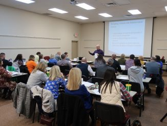 PBIS leaders from across the district met at the Board Annex on January 31 to continue rollout of PBIS in their schools.