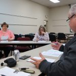 Members of the Superintendent's Council of Councils met on April 23, 2018.