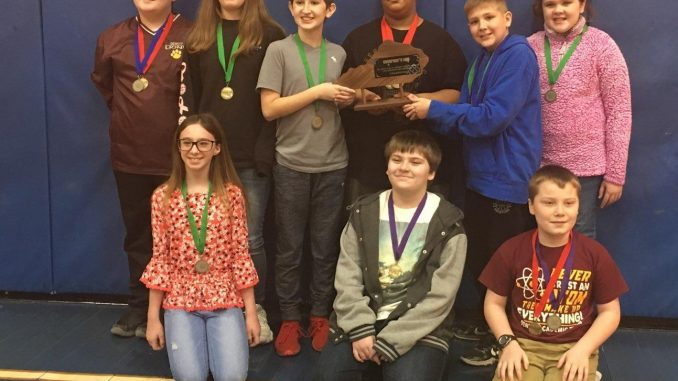 District 108 Elementary Governor's Cup Winners