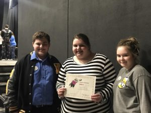 Knox Central High School Odyssey of the Mind team