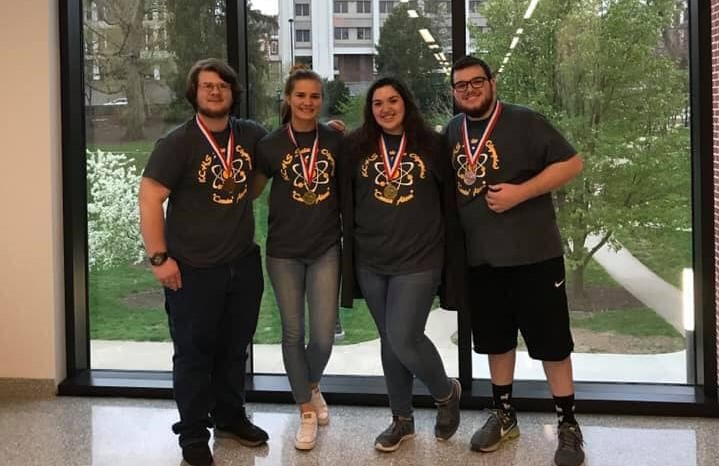 First place Laura Beth Mills and Amber Brown (Disease Detectives)  3RD PLACE: Abram Mills and Joe Brown (Fermi Questions)