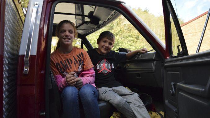 Dewitt Elementary safety visit