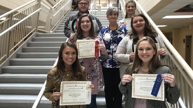 Winners from the World Language Cup at University of the Cumberlands representing Knox Central