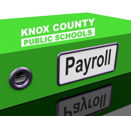Payroll folder graphic for web story