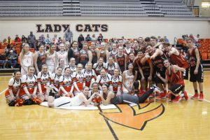 2018-2019  Lynn Camp Basketball Team and Cheerleaders