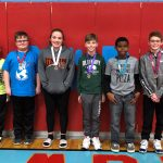 Overall Science winners at the Sixth Grade Showcase