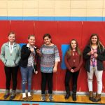 Arts and Humanities overall winners at the Sixth Grade Showcase