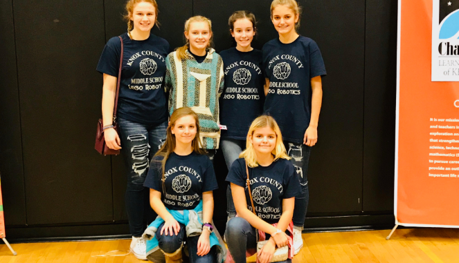 First Place—Mind Masters from Knox Middle