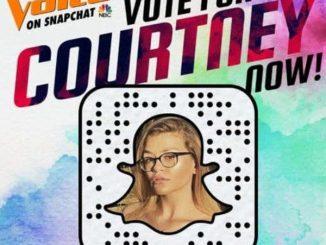 Lynn Camp alum Courtney Mason Snapchat - The Voice