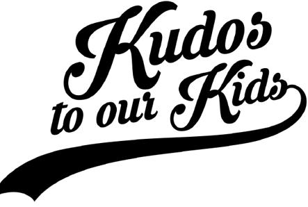 Kudos to our Kids logo that appears on the website and on letters sent to Kudo kids.