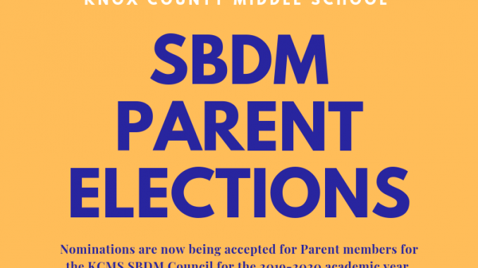 Knox County Middle School SBDM Council