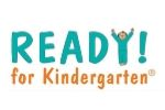 READY! for Kindergarten clipart with child forming the y