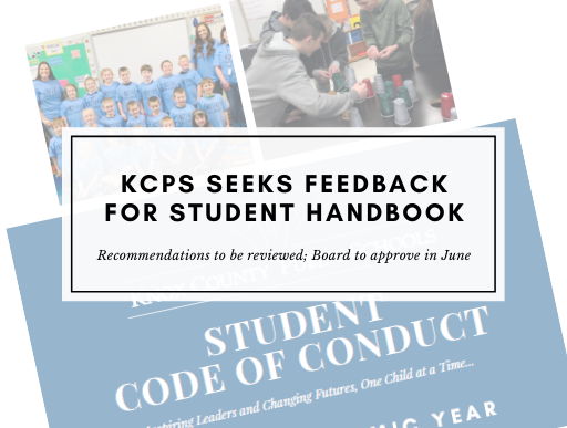 Info image for student handbook feedback