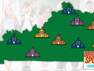 Bright Spots image of Kentucky and schools from the Prichard Committee