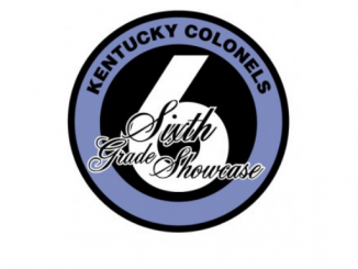 Sixth grade showcase logo sponsored by Kentucky Colonels