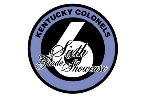 Sixth grade showcase logo sponsored by Kentucky Colonels