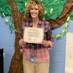 Elementary teacher Kara Bailey, representing Flat Lick Elementary