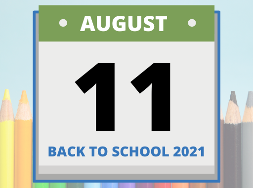 Calendar with August 11 date shown