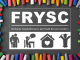 State FRYSC logo on black background with crayons