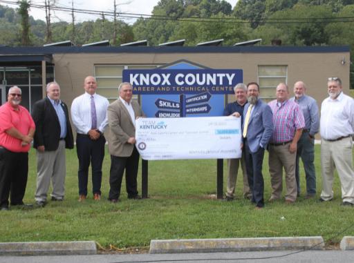 Check presentation at Knox County CTC